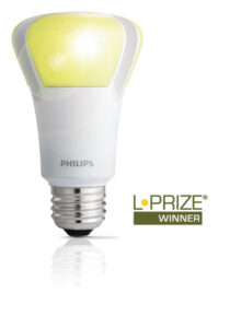 This LED bulb won the $10 million L-Prize from the U.S. Department of Energy. Source: Philips