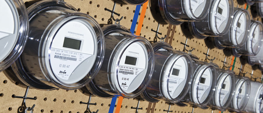 The proliferation of smart meters, along with other developing technologies, helps electric ­cooperatives work to contain costs while improving service for consumer-members.  Source: NRECA