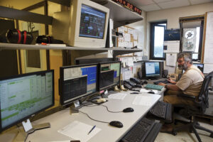 New technologies like down-line automation alerts personnel in a control room to potential problems and can limit the duration and extent of a power outage.Source: NRECA