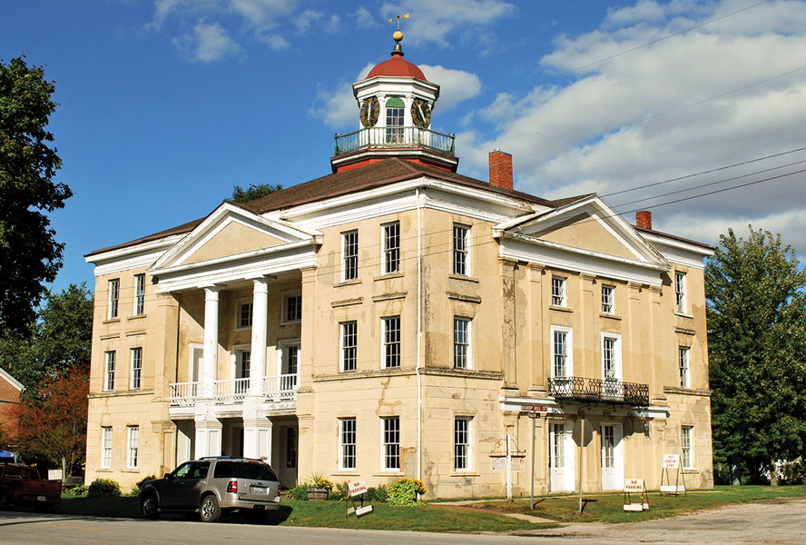 The three-story Colony Hotel was built in 1852 and is now a museum celebrating Swedish-American heritage.