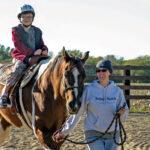Child on horse