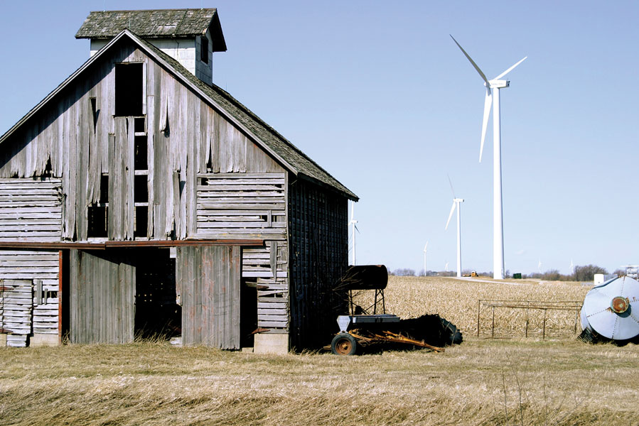 barn - turbine