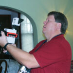 Professional home energy auditors use infrared cameras to picture energy leaks.