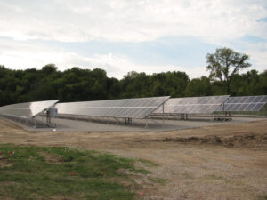 Dairyland Power, a generation and transmission cooperative serving co-ops in Illinois and three other states, continues to diversify its power supply options by adding more solar power from facilities like this one in Galena, Ill. The co-op's energy mix resources include coal, natural gas, hydro, wind, biomass, landfill gas, animal waste and solar.