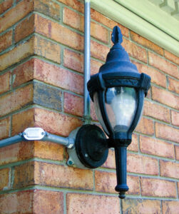 Efficient outdoor lighting illinois country living magazine when installing outdoor security entertainment lighting always follow local electric codes this installation mozeypictures Choice Image