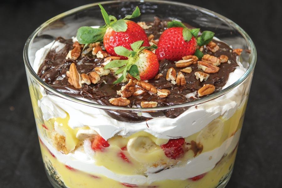 Banana Cake Trifle