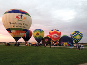 Touchstone Balloon Shelby event 10-14 photo