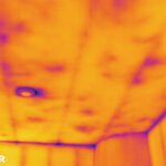 IR photo underperforming insulation