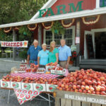 Six generations of family have run Rendleman Orchards in Union County, with the newer generations reviving farm interests in vegetables to their peach and apple crops.