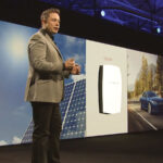 In April, Tesla Motors CEO Elon Musk announced the formation of Tesla Energy, which he called a group of batteries based on those used in its electric cars. The new batteries would be designed for homes and businesses to use as backup in a power outage, or to use photovoltaic cells to charge the battery during the day so that electricity could be supplied by solar power at night. Photo Credits: Tesla Motors