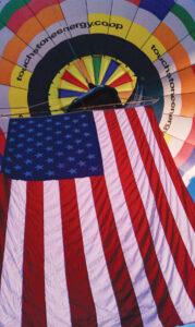 balloon wflag