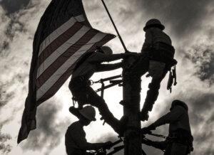 Raising the Flag Lineman Rodeo 2015 IMG_4675