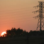 sunset and transmission line JL IMG_0753