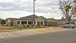 The Carthage, Ill., facility, referred to as Maple Grove Apartments, gives patients with dementia and other cognitive issues a home-like and family-oriented environment with a small number of residents per building and central common areas for socializing and meals.