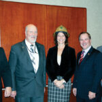 U.S. Rep. Cheri Bustos receives a golden hard hat and the 2015 Illinois Electric Cooperatives' Public Service Award. With Bustos are (l-r) Michael Hastings, President and CEO of Jo-Carroll Energy; David Senn, Chairman of the Jo-Carroll Energy board of directors; Duane Noland, President and CEO of the Association of Illinois Electric Cooperatives and Bill Dodds, President and CEO of Spoon River Electric Cooperative.