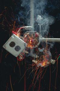 Massive wiring failure, Electrical Fire