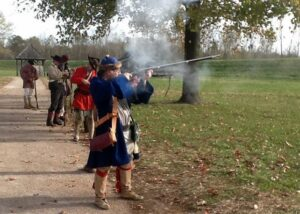Living life the 18th century way @ Fort de Chartres State Historic Site | Prairie du Rocher | Illinois | United States