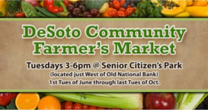 Desoto Community Farmers Market @ Desoto Senior Citizens Park | De Soto | Illinois | United States