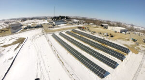 Jo-Carroll Energy's 100-kW solar farm came online in 2014 and Jo-Carroll members can invest in a solar panel with credits for output going to their bill.