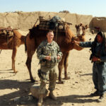 Soldier and Camel