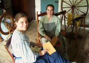 Sheep to Clothing @ Lincoln Log Cabin State Historic Site | Lerna | Illinois | United States