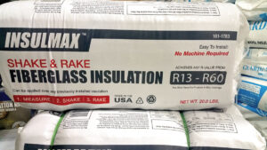 """Shake & Rake Insulation"" has a cute name, but it doesn't perform very well. It was invented to appeal to the homeowner do-it-yourself market. Check with a professional installer and ask for cellulose insulation. ""Shake & Rake Insulation"" has a cute name, but it doesn't perform very well. It was invented to appeal to the homeowner do-it-yourself market. Check with a professional installer and ask for cellulose insulation."