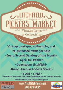 Litchfield Pickers Market September 11 Tribute with the Ceremonial Army Band @ Downtown Litchfield, IL |  |  |