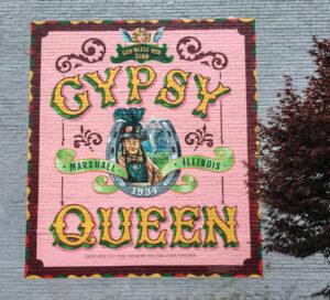 Gypsy Queen Mural