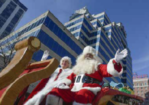 129th Annual Santa Claus Parade @ Downtown Peoria | Peoria | Illinois | United States