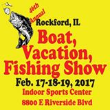 46th Rockford Boat, Vacation & Fishing Show @ Indoor Sports Center | Loves Park | Illinois | United States