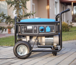 Always make sure that the generator is grounded and used in a dry area.