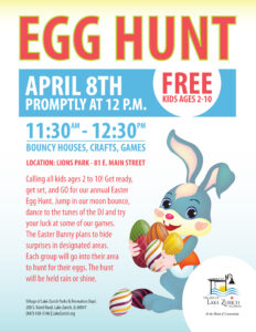 Lake Zurich Annual Egg Hunt @ Lions Park | Lake Zurich | Illinois | United States