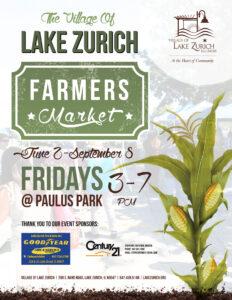 Farmers Market @ Henry J. Paulus Park | Lake Zurich | Illinois | United States