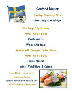 Seafood Dinner @ Hedman Vineyards | Alto Pass | Illinois | United States