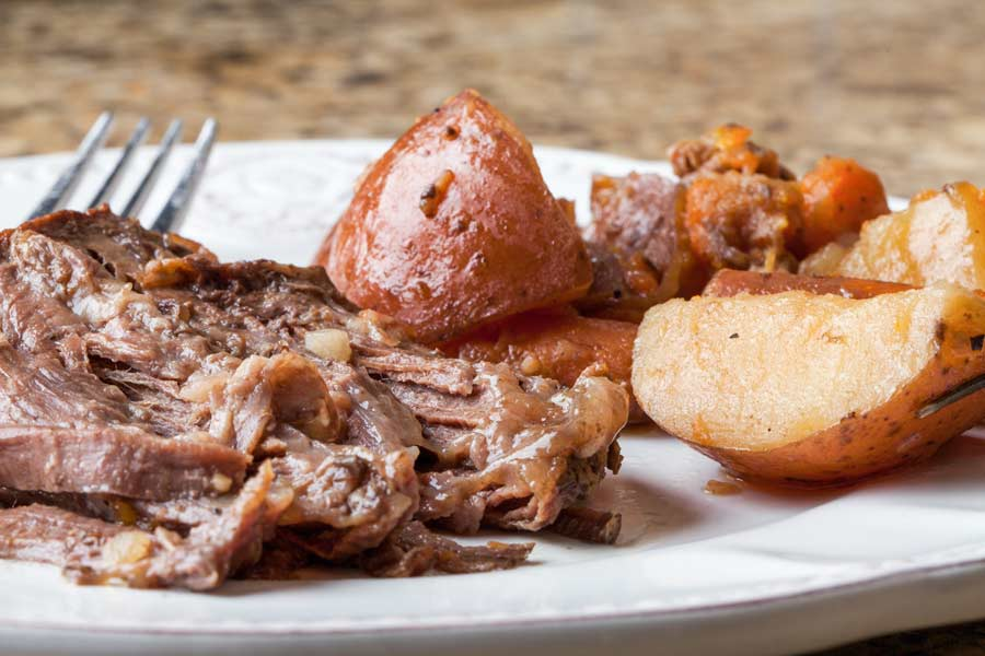 Beef Roast with potatoes