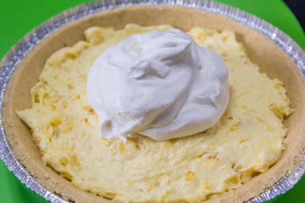 Sugarless Pineapple Pie
