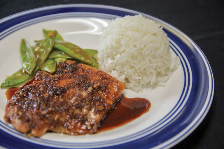 Baked Soy Ginger Salmon