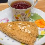 Whole Grain Maple Oatmeal Scones