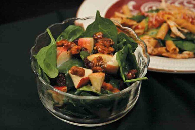 Spinach-Craisin Salad