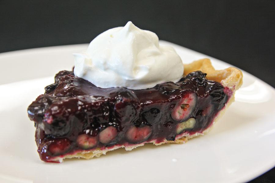 Double Good Blueberry Pie