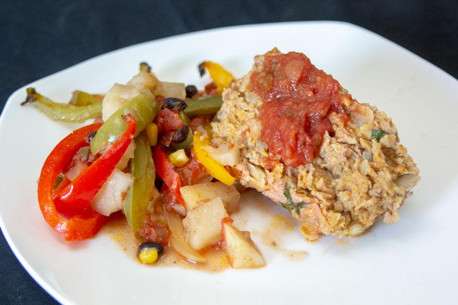 Meatloaf supper