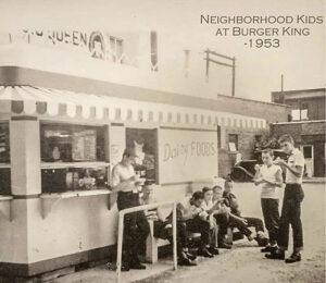 Neighborhood kids at Burger King