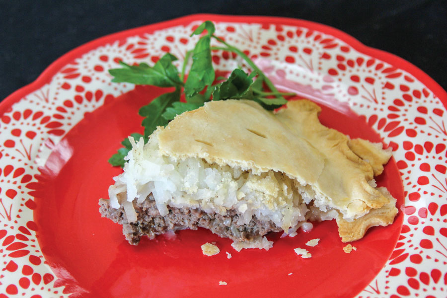 Meat & Tater Pie