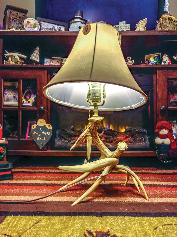 Antler Lamp