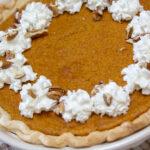 Pecan Crunch Pumpkin Pie