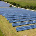 large solar farm