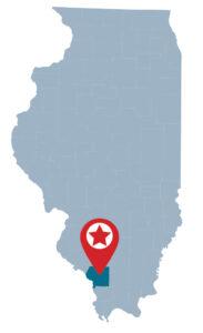 Giant City-Illinois Map