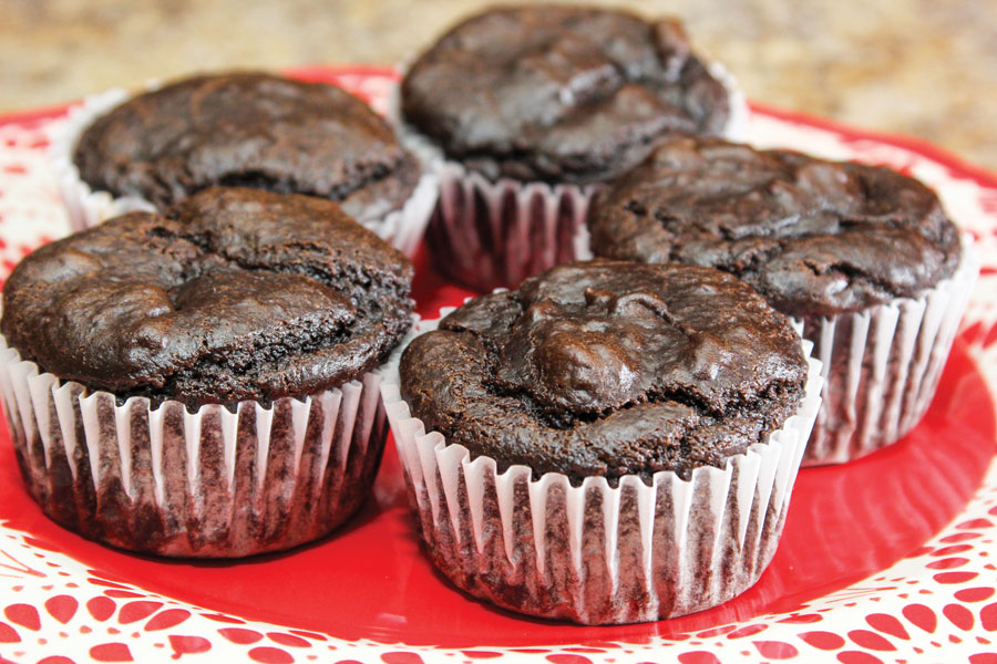 Double Chocolate Muffins with Avocado