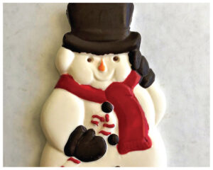Chocolate Factory Snowman