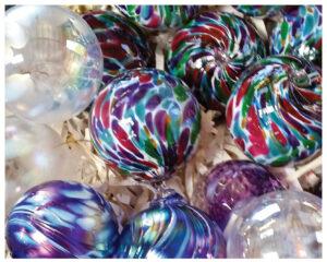 Larkfield Glass Ornaments